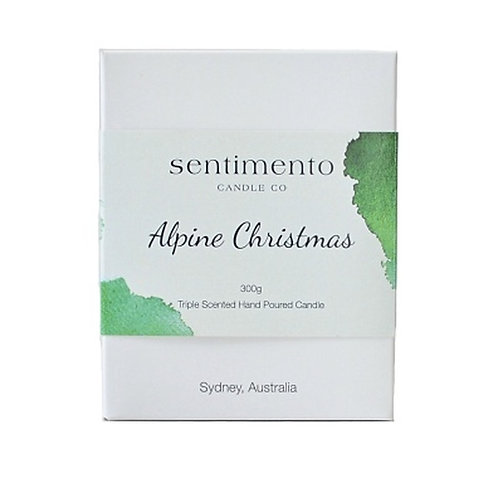 ALPINE CHRISTMAS 100% Soy Wax Candle