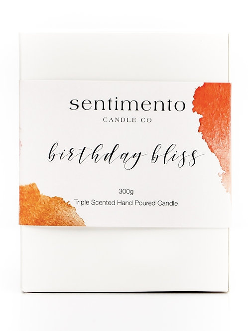 BIRTHDAY BLISS Soy Wax Candle