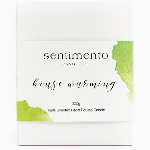 HOUSE WARMING Soy Wax Candle