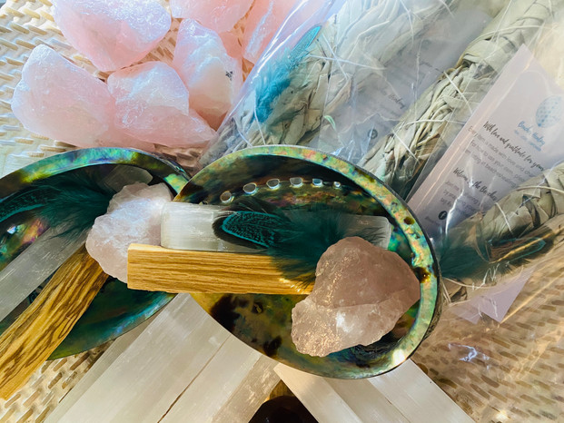 Crystals, Candles, Space Clearing