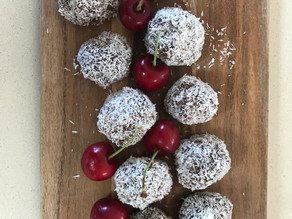 reload with our cherry ripe bliss balls