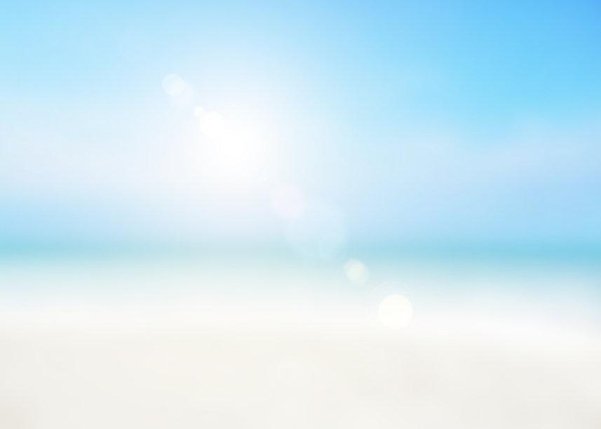 The blur cool sea background on horizon