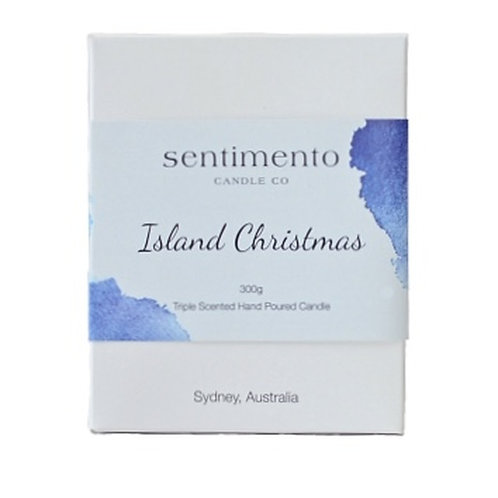 ISLAND CHRISTMAS 100% Soy Wax Candle