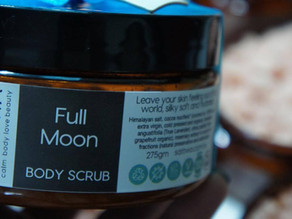scrub up and leave the past behind on this September Full Moon