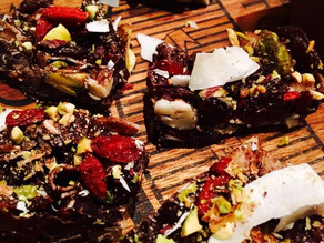 replenish with our superfood rocky road