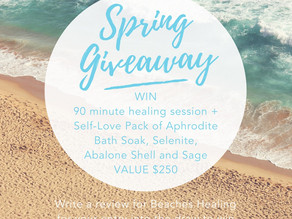 spring into self-love giveaway