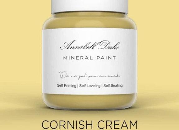 Annabell Duke Cornish Cream Mineral Paint - Light Yellow
