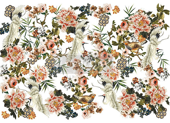 Elegance & Flowers Decor Transfer   Redesign with Prima Furniture