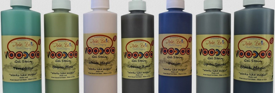 VooDoo Gel Stain | Dixie Belle Paint | 236ml | Wood Stain