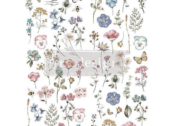 Delicate Fleur Decor Transfer