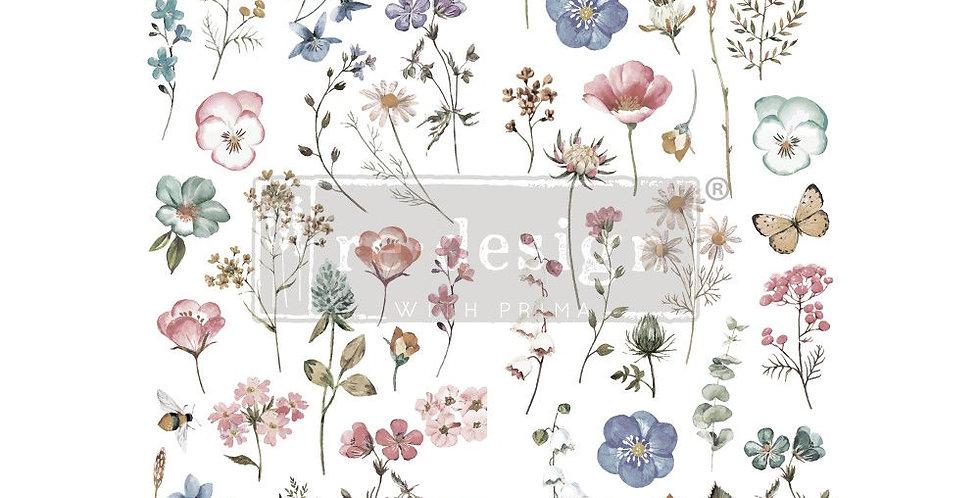 Delicate Fleur Decor Transfer | Redesign with Prima