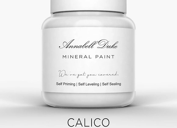 Annabell Duke Calico Mineral Paint - Cream Grey Greige