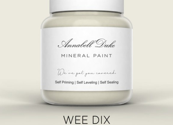 Annabell Duke Wee Dix Mineral Paint - Very Light Grey