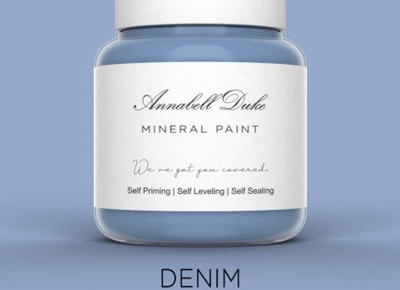 Annabell Duke Denim Mineral Paint - Blue