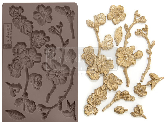 Cherry Blossoms silicone mould Redesign With Prima