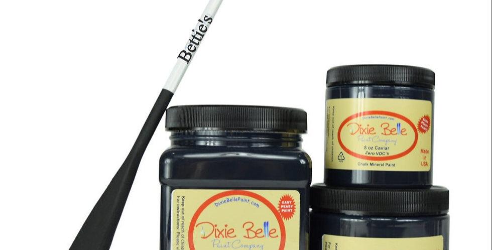 Caviar | Dixie Belle Paint | Blackest Black | 8oz 16oz 32oz