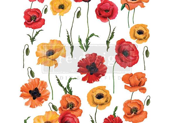 Poppy Gardens Transfer