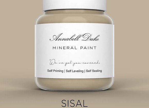 Annabell Duke Sisal Mineral Paint - Taupe Brown