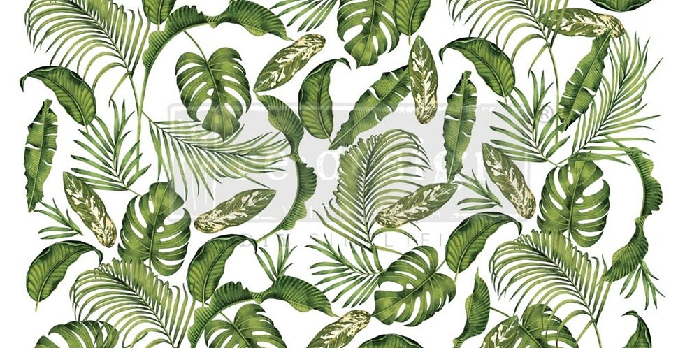 Tropical Paradise Decor Transfer | ReDesign With Prima