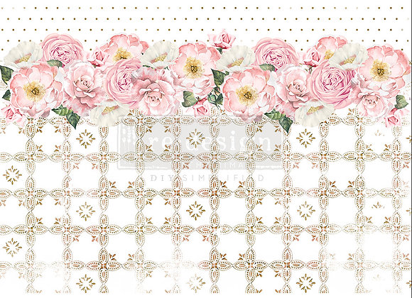 Tranquil Bloom Rice Paper - Redesign with Prima