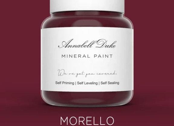 Annabell Duke Morello Mineral Paint - Cherry Red