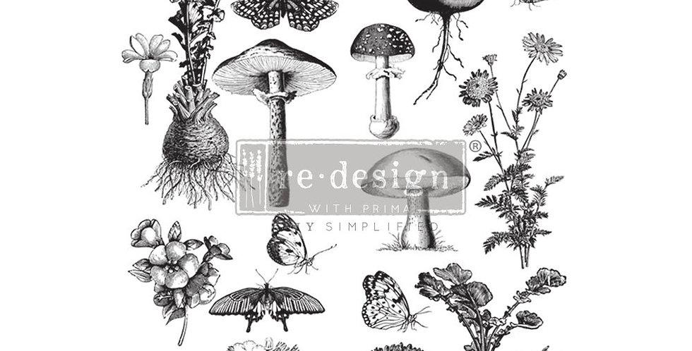 Fungi Forest Decor Transfer | ReDesign With Prima