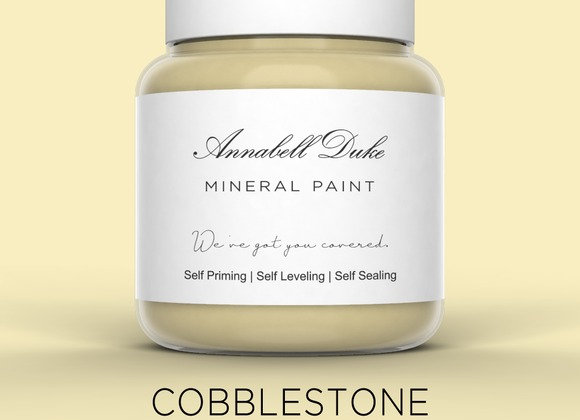 Annabell Duke Cobblestone Mineral Paint -Cream Beige Brown