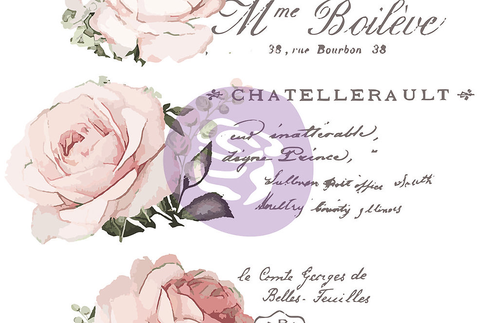 Chatellerault Decor Transfer   ReDesign With Prima