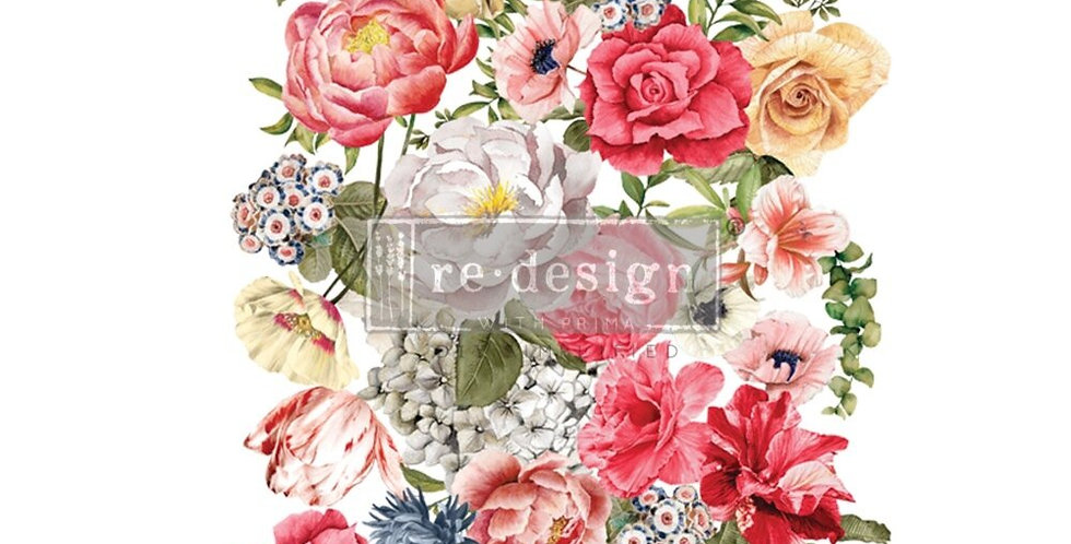 Wondrous Floral II Decor Transfer | ReDesign With Prima