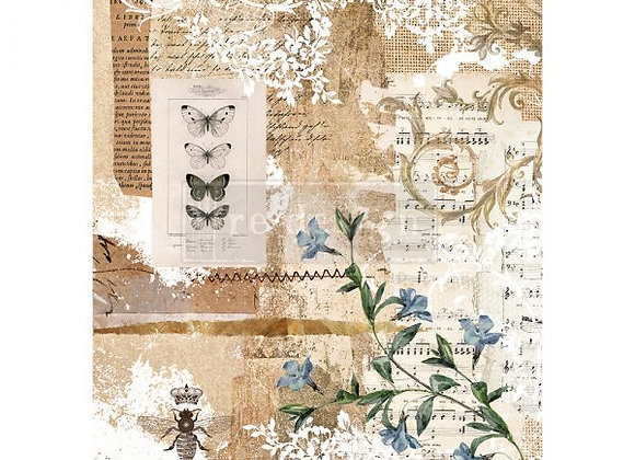 Botanical Sonata Rice Paper - Redesign with Prima