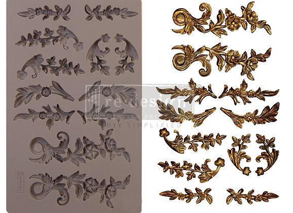 Delicate Flora silicone mould Redesign With Prima