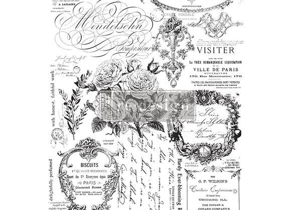 Paris Valley Decor Transfer | ReDesign With Prima