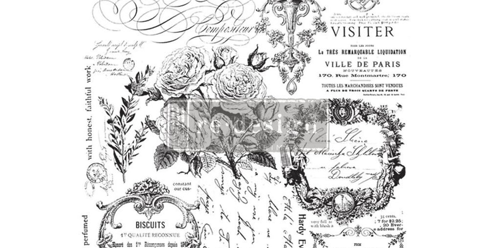 Paris Valley Decor Transfer | ReDesign With Prima