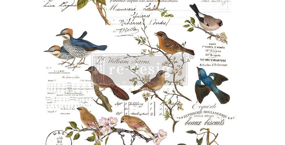 Redesign Decor Transfer Postal Birds | Redesign with Prima Furniture Tr