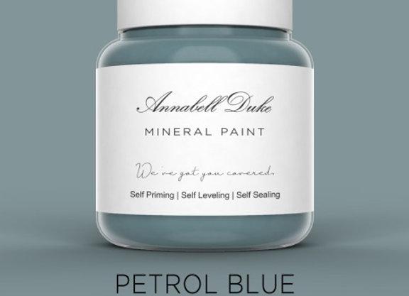 Annabell Duke Petrol Blue Mineral Paint - Cornflower Blue