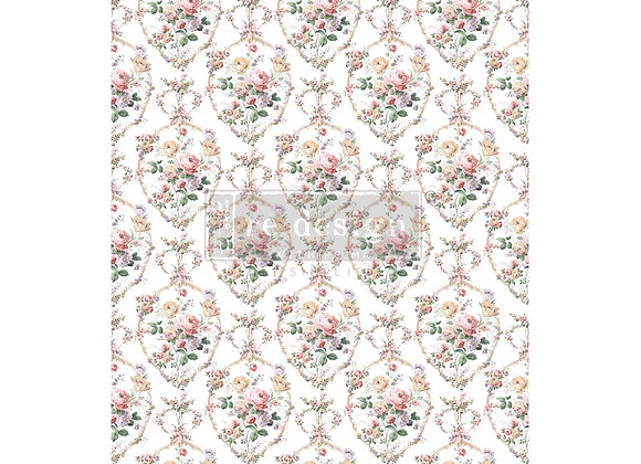 Floral Court Decor Transfer | Redesign with Prima Fur