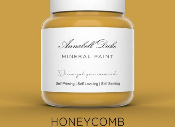 Annabell Duke Honeycomb Mineral Paint - Yellow
