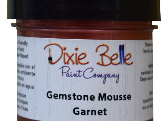 Garnet Gemstone Mousse