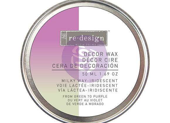 Milky Way Decor Wax Paste 50ml - Iridescent Violet Wax