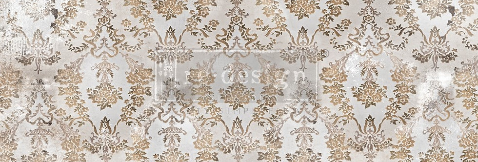 Redesign Decoupage Tissue Paper Washed Damask | Redesign with Prima