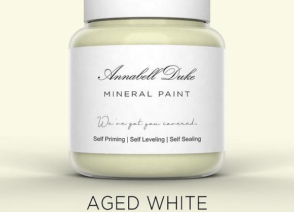 Annabell Duke Aged White Mineral Paint - Creamy White