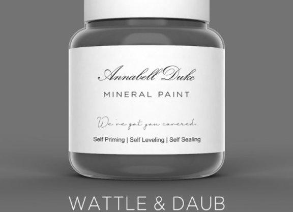 Annabell Duke Wattle & Daub Mineral Paint - Grey