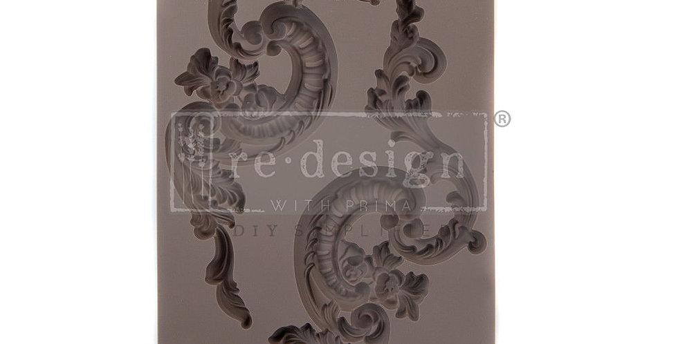 Italian Villa Scrolls   Decor Mould   Redesign with Prima