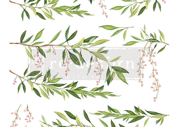 "Spring Branch Decor Transfer | 24"" x 35"" | Re-Design with Prima"