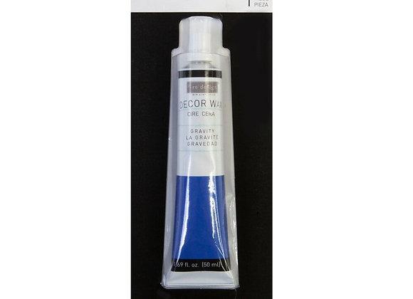 Gravity Decor Wax Paste 50ml - Blue Wax