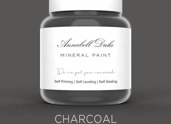 Annabell Duke Charcoal Mineral Paint - Dark Grey