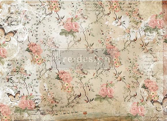 Botanical Imprint Tissue Paper - Redesign with Prima