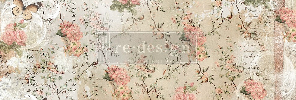 Redesign Decoupage Tissue Paper Botanical Imprint | Redesign with Prima