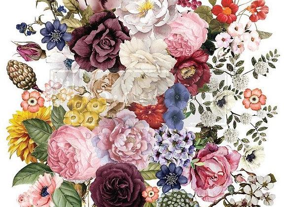 Wondrous Floral Transfer