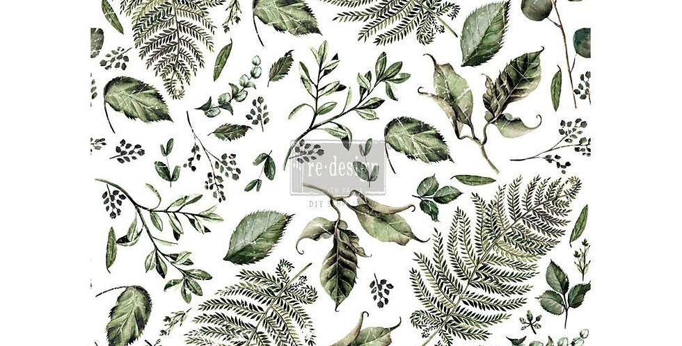 Fern Woods Decor Transfer | ReDesign With Prima